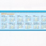 pens with calendars inside, totally customized with picture printed too
