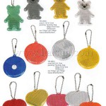 Promotional Reflective Key Chains